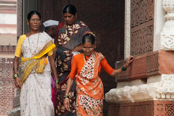 Am Qutub Minar, Delhi