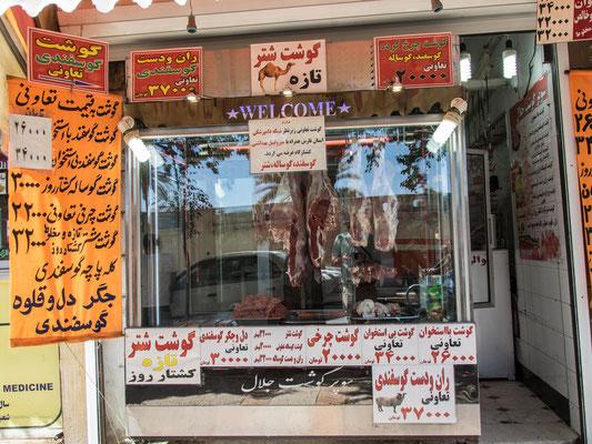 In der Altstadt von Shiraz.