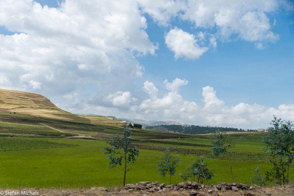 85 % der Bevölkerung leben von der Landwirtschaft.