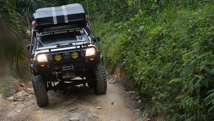 Jeep-Tour auf Koh Samui.