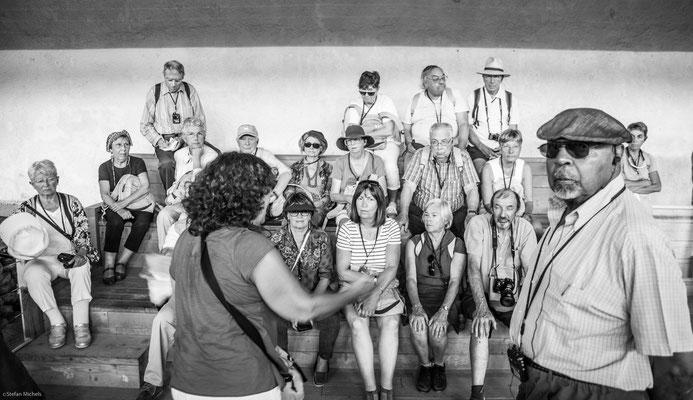 Akrotiri -Im Jahr 1967 entdeckte der Archäologe Spyridon Marinatos eine Stadt der Kykladenkultur mit starkem Einfluss der minoischen Kultur.
