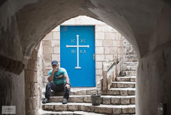 In der Altstadt von Jaffa.