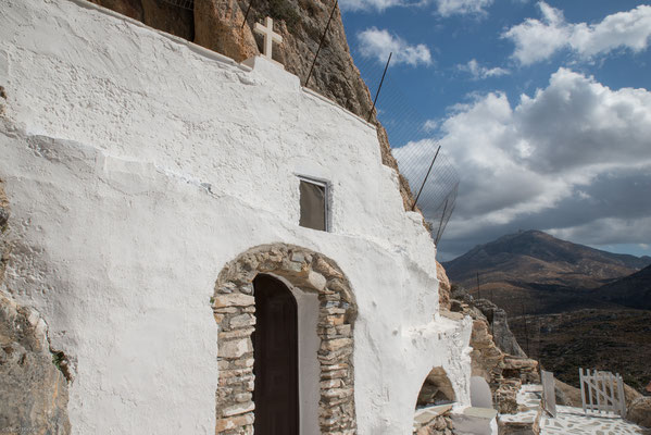 In  den Bergen von Naxos.
