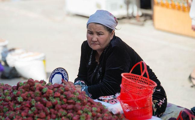 Der mongolische Herrscher Timur machte Samarqand 1369 zur Hauptstadt seines Großreichs.