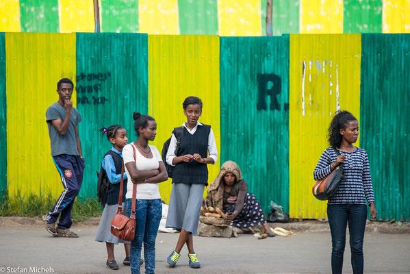 Amtssprache ist Amharisch.