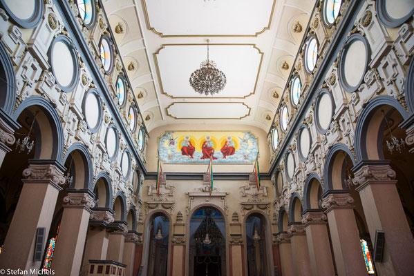 Addis - Kirche wurde nach europäischem Entwurf 1941 erbaut.
