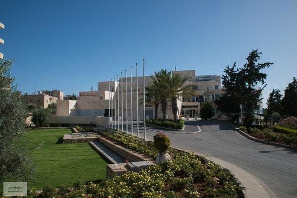 Einladung zu einem Gespräch mit der Leitung des Caritas Kinderspitals Bethlehem (englisch und vor Ort genannt Caritas Baby Hospital)