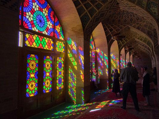 Die Moschee wurde im Zeitalter der Kadscharen-Dynastie erbaut.  Bauzeit von 1876 bis 1888.