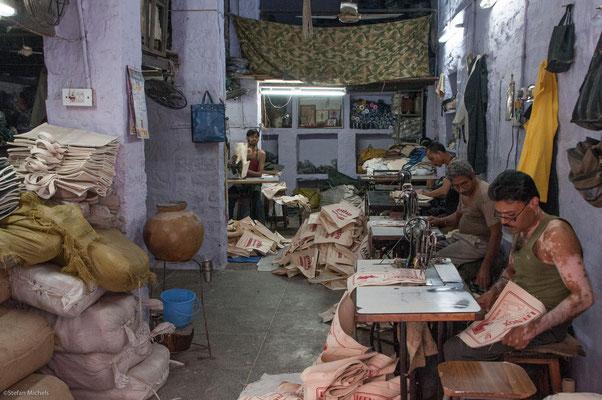 Kleine Fabrik in Jodhpur