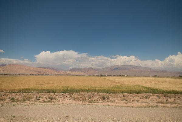 Mit dem Zug nach Teheran.