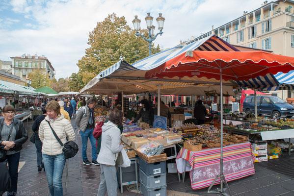 Nizza - auf dem Markt.