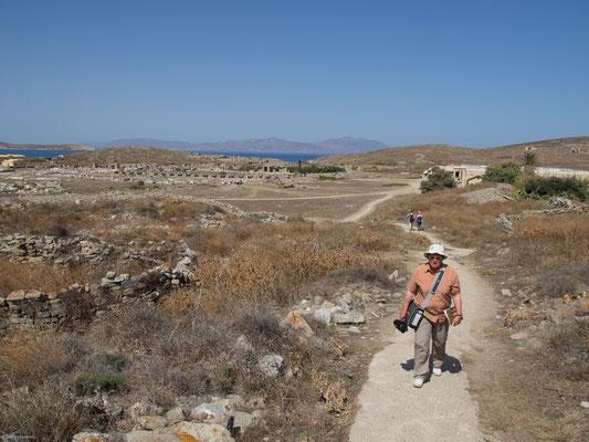 Delos wurde zu einem Zentrum des expandierenden Ost-West-Handels zwischen Kleinasien, Syrien und Phönikien einerseits und Italien andererseits.