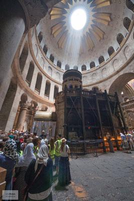 Seit einer Renovierung 1555 wechselte die Kontrolle über die Kirche zwischen den Franziskanern und den Orthodoxen.