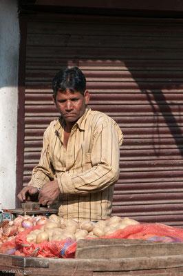 Markt in Udaipur, bis 1948 unabhängig