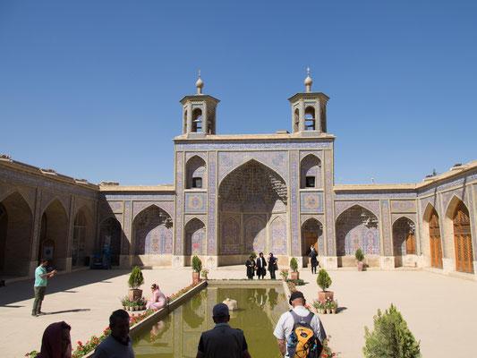 Die Nasir-ol-Molk-Moschee , auch bekannt als Pinke Moschee.