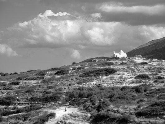 Der Hauptort und -hafen heißt Naxos und wird, wie die Hauptorte auf fast allen Inseln, Chora (griechisch Χώρα) genannt.