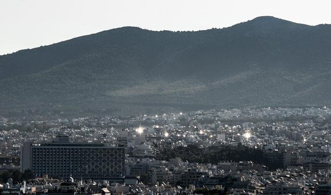 Vororte von Athen.