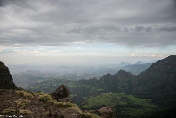 Simien-Gebirge - wir übernachten im höchsten Hotel Afrikas.