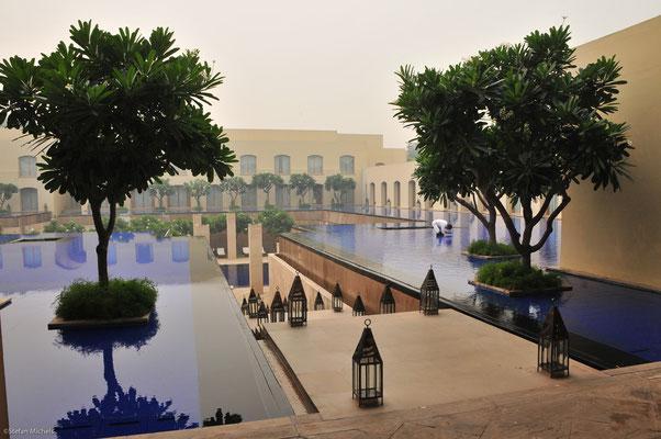 Unser erstes Hotel, das Trident Gurgaon