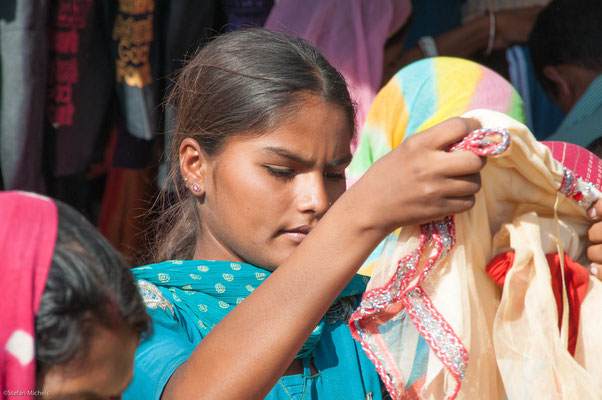 Stoffauswahl, Jodhpur