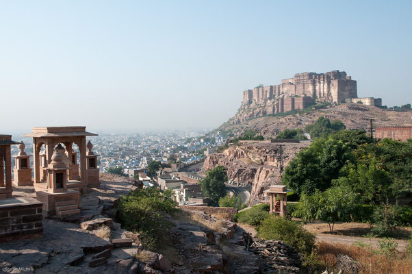 Das Fort in Jodhpur