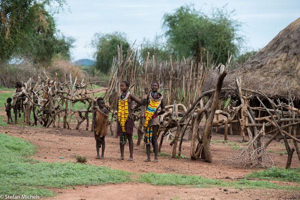 Die Hamar sind eine Bevölkerungsgruppe, die in der Omo-Region im Südwesten von Äthiopien lebt.