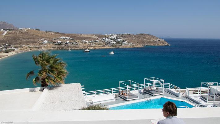 Hotelanlage auf Mykonos.