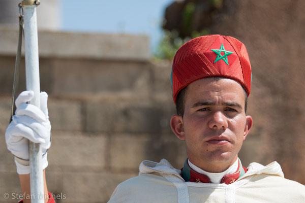 Rabat - 650.000 Einwohner.