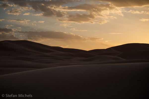 Sahara - sanfte Dünen.