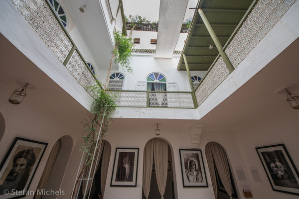 Marrakesh - Photographie-Museum in einem Riad.