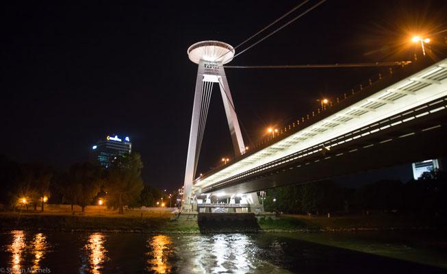 Die Brücke des Slowakischen Nationalaufstandes.