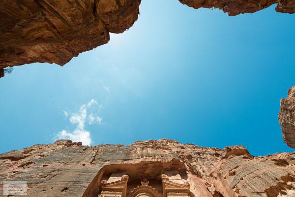 Petra gilt heute als eine der größten Sehenswürdigkeiten des Nahen Ostens.