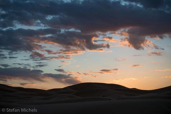 Sahara - Wolkenbildung