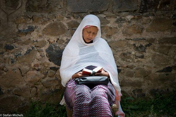 Addis - Marienverehrung schon sehr früh in Äthiopien.