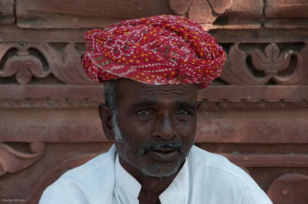 Auf der Festungsanlage in Jodhpur