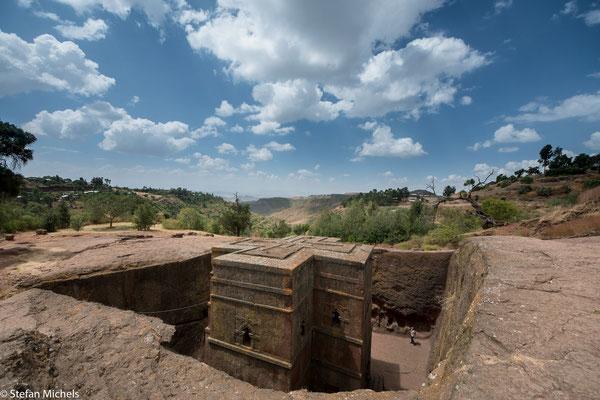 Lalibela - (amharisch ላሊበላ lalibäla) oder Neu-Jerusalem (früher Roha) ist eine heilige Stadt und Wallfahrtsort in Äthiopien.