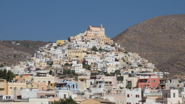 Weiter ging es nach Naxos; Zwischenstop auf Syros
