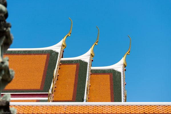 Fertiggerichte, Holz und Textilien sind Bangkoks wichtigste Exportwaren.