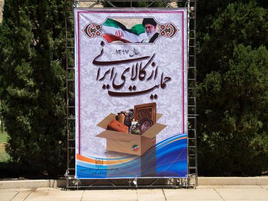 Die Losung dieses Jahr: Kauft iranische Waren!