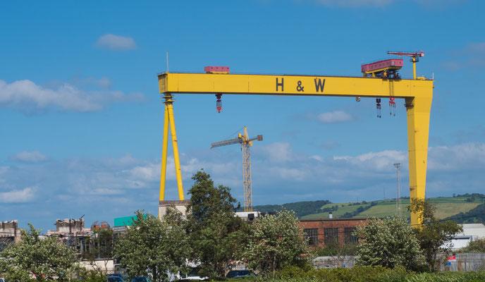 Harland und Wolff war die Werft, die die Titanic baute.