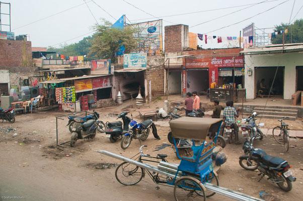 Straßenszene in Agra