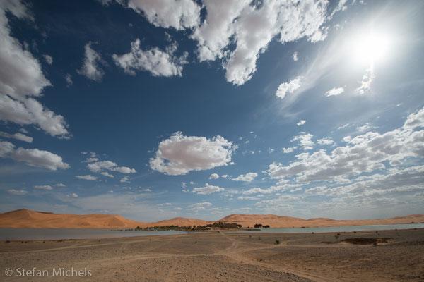 Sahara -Ist mit neun Millionen Quadratkilometern die größte Trockenwüste der Erde.
