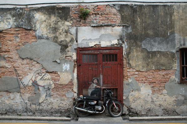 Street Art - überall in der Stadt.