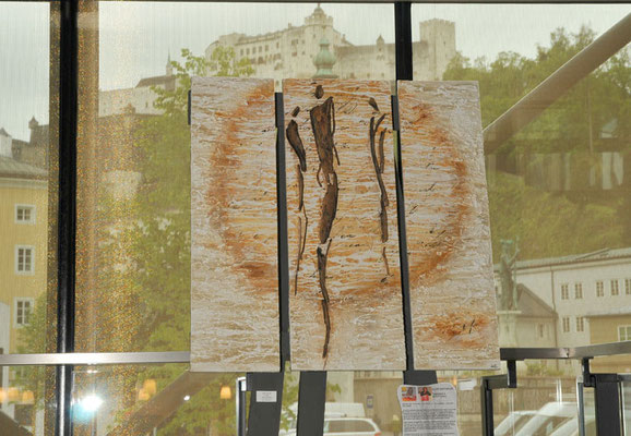 Ausstellung im Festspielbezirk in Salzburg