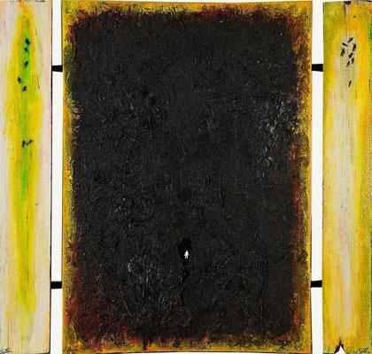 SEHNSUCHT NACH..., Mischtechnik, (3-tlg.), 100x100 cm