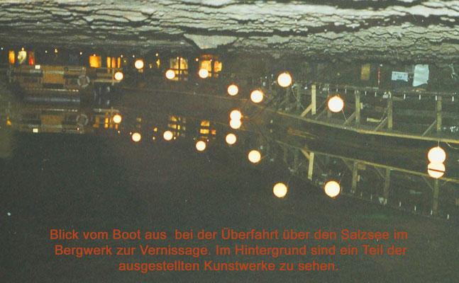 Ausstellung direkt im Salzbergwerk Dürrnberg beim mystischen Salzsee