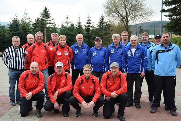 Siegermannschaften des Kreispokal Vorentscheids 2016
