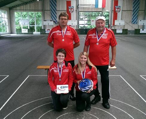 Mixed-Mannschaft beim Bezirkspokal Sommer 2015