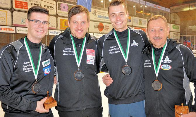3. Platz Eisstock Weltmeisterschaft 2016