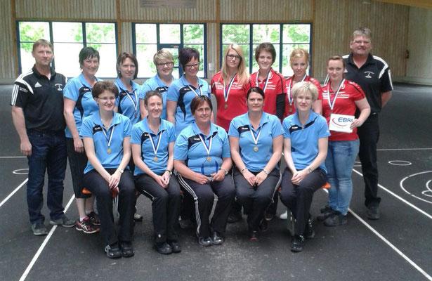 Siegerfoto Bezirkspokal Damen 2015